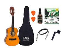 Cavaco Elétrico Vogga VCC520 Natural Fosco Capa Limpa Cordas - KING MUSICAL