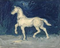 Cavalo (1886) - Vincent van Gogh - 30x37 - Tela Canvas Para Quadro - Santhatela