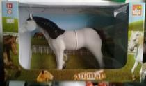 Cavalo vinil animais farm - Bee Toys