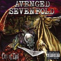 Cd Avenged Sevenfold - City Of Evil - Warner