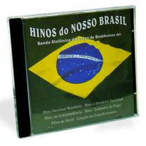 Cd Banda Sinfornica do Corpo de Bombeiros do rj - Hinos do Nosso Brasil - Cid