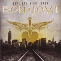 CD Bon Jovi - Live One Night Only - Strings and music