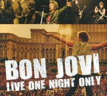 CD Bon Jovi Live One Night Only - Top disc