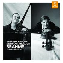 Cd brahms capucon angelich viol.1-3 - EMI MUSIC LTDA