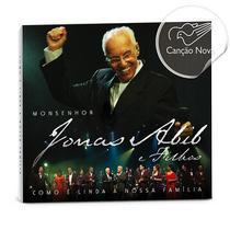 CD Como é linda a nossa família - Ao vivo - Monsenhor Jonas Abib e filhos - Armazem