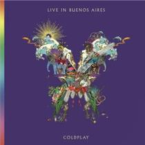 CD Duplo Coldplay - Live in Buenos Aires - Warner Music