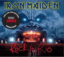 Cd Duplo Iron Maiden - Rock in Rio -The live Collection 2002 - Warner Music