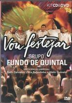 CD+DVD Grupo Fundo de Quintal - Vou Festejar - Radar