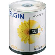 CD Gravavel Printable CD-R 700MB/80MIN/52X Tubo com 100 - GNA