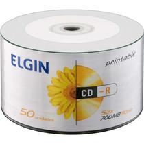 CD Gravavel Printable CD-R 700MB/80MIN/52X Tubo com 50 - GNA