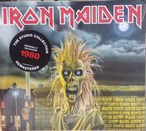 Cd Iron Maiden - 1980 (the Studio Collection)  Digipack - Warner Music