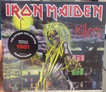 Cd Iron Maiden - 1981 Killers(the Studio Collection)digipack - Warner Music