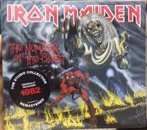 Cd Iron Maiden - 1982 The Number Of The Beast - Digipack - Warner Music
