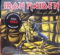 Cd Iron Maiden - 1983 Piece Of Mind - Digipack - Warner Music