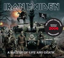 Cd Iron Maiden - A Matter of life and Death 2006 - Remastere - Warner Music