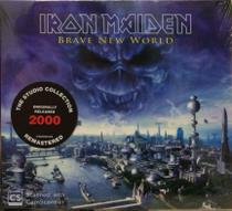 Cd Iron Maiden - Brave New World 2000  The Studio Collection - Warner Music