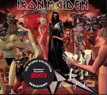 Cd Iron Maiden - Dance of Death 2003 - The studio Collection - Warner Music