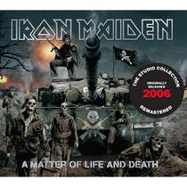 CD Iron Maiden Matter Of Life And Death REMASTERED DIGIPACK - Warner