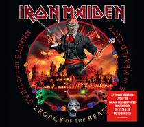 Cd iron maiden - nights of the dead - legacy of the beast - Warner Music
