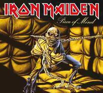 Cd iron maiden - piece of mind (1983) - remastered - Warner Music