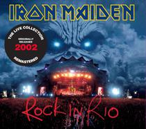 Cd iron maiden - rock in rio (2002) - remaster (2 cds) - Warner Music