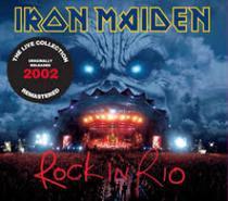 Cd Iron Maiden - Rock in Rio Duplo - Remastered Digipack - Warner Music