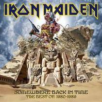 CD Iron Maiden - Somewhere Back in Time - Warner