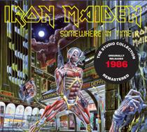 Cd iron maiden somewhere in time 1986 remastered* - Warner Music
