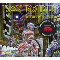 CD Iron Maiden Somewhere In Time Remastered Digipack - Warner