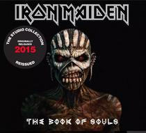 Cd Iron Maiden - The Book Of Soul - 2015 The Studio Collecti - Warner Music