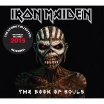 CD Iron Maiden The Book Of Souls Duplo Remastered Digipack - Warner