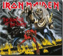 Cd Iron Maiden - The Number of The Beast - Remastered Digipack - Warner Music