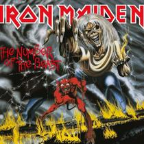 CD Iron Maiden The Number Of The Beast (remastered) Digipack - Warner