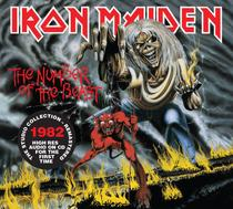 Cd iron maiden the number of the beast - Warner