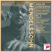 Cd mendelssohn bernstein viol. c. sym - CD LINE