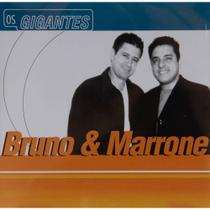 CD Os Gigantes - Bruno  Marrone - Warner