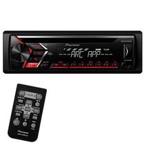 Cd Player Automotivo Pioneer Deh-S1050UB com USB/Auxiliar - Preto -
