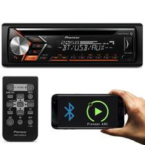CD Player Automotivo Pioneer DEH-S4080BT 1 Din Bluetooth USB AUX RCA FM MP3 WMA Smartphone Mixtrax