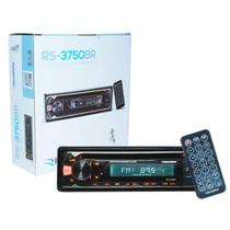 Cd Player Mp3 Automotivo Bluetooth Toca Som Roadstar Rs-3750br Fm Usb Sd Aux Controle - Roadstar brasil
