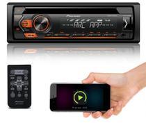Cd  Player  Pioneer  DEH-S1280UB  Entrada  USB  Auxiliar  MP3 -