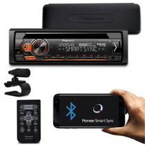 CD Player Pioneer DEH-S4180BT 1 Din LCD Bluetooth Interface Android Spotify Mixtrax MP3 USB AUX FM