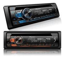 Cd Player Pioneer Deh-S4180bt Bluetooth Usb Android Iphone Auxiliar Mixtrax -