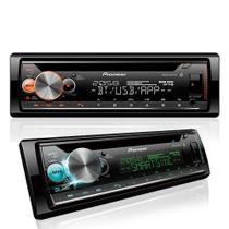 Cd Player Pioneer Deh-X5000br c/ Bluetooth Am/Fm + Controle -