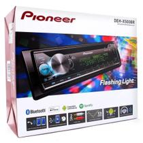 Cd Player Pioneer Deh-x500br Bluetooth Mixtrax Karaoke Smart Sync Dynamic Bass usb -