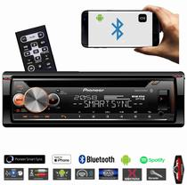 Cd Player Pioneer Deh-x500br Usb Karaokê, Bluetooth Smart Sync