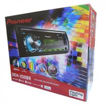 Cd Player Pioneer Deh-x50br Bluetooth Flashing Light Mixtrax usb