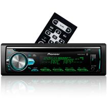 CD Player Pioneer DEH-X50BR - Bluetooth Mixtrax ARC Android iPhone e USB