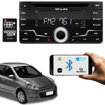 CD Player Shutt Tokyo Nissan March 11 a 17 2 Din Wide MP3 Bluetooth USB AUX P2 FM Similar Kenwood