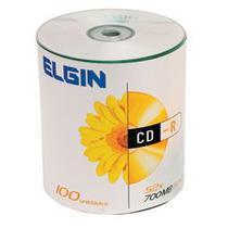 CD-R Elgin C/ Logo branco 100 Unidades -