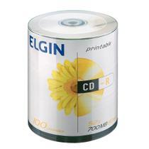 CD-Rom Elgin Midia 80min 52x Pino 100 -